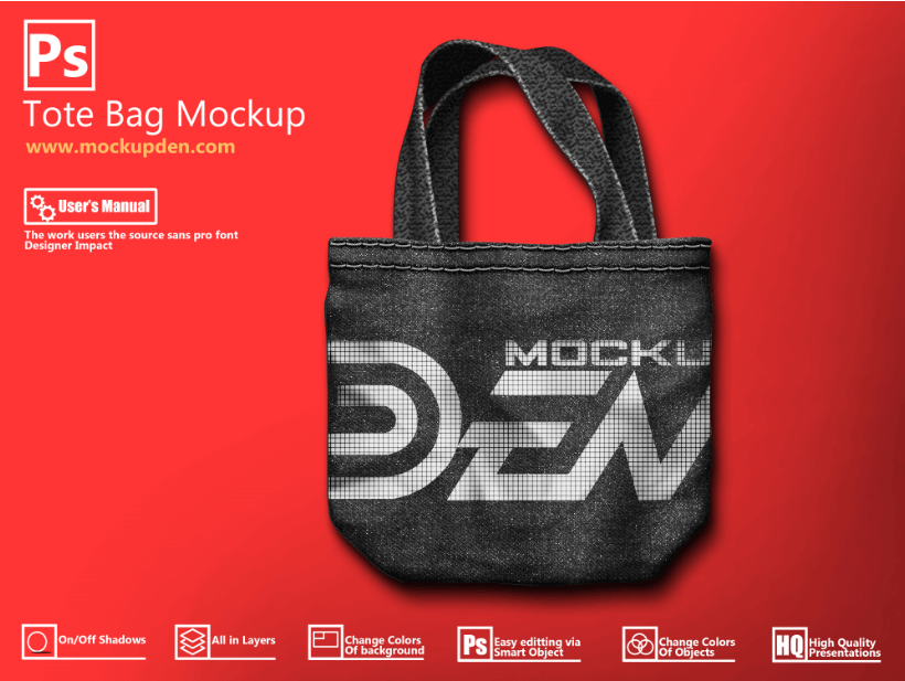 Download free psd mockups smart object and templates to create magazines, books, stationery, clothing, mobile, packaging, business cards,. 50 Best Free And Premium Tote Bag Mockup Psd Templates 2020