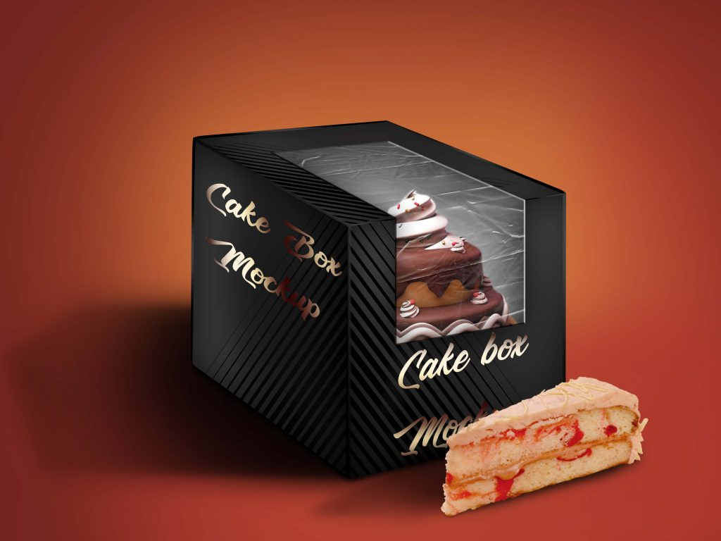 mockup templates are a basic and trouble free way to deal with accomplish this. Free Glossy Cake Box Mockup Psd Template Mockup Den