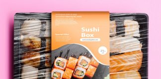 If you are looking to place the design on take away box then this pack. Sushi Mockup Psd Template Mockup Den