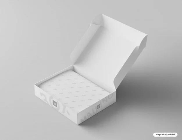 Download 20+ Creative Free Mailing Box Mockup PSD Templates