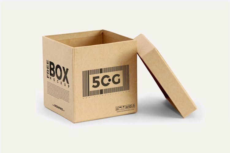 Download Free Open Box Mockup PSD | Download
