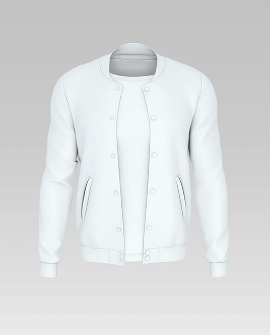 Classic varsity jacket mockup vector. Free Varsity Jacket Mockup Mockupfree Co