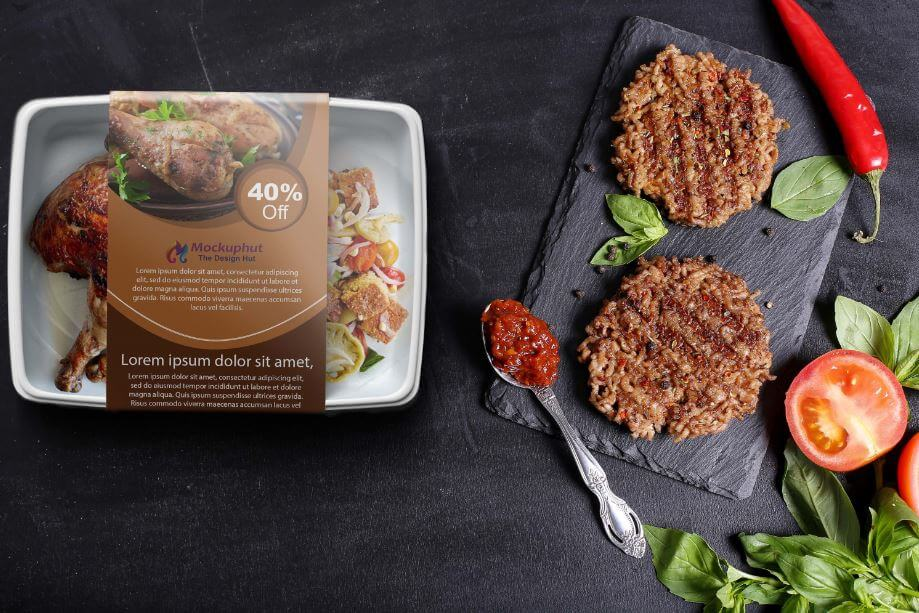 Download Free Food packaging Mockup Mockuphut Exclusive - Mockuphut