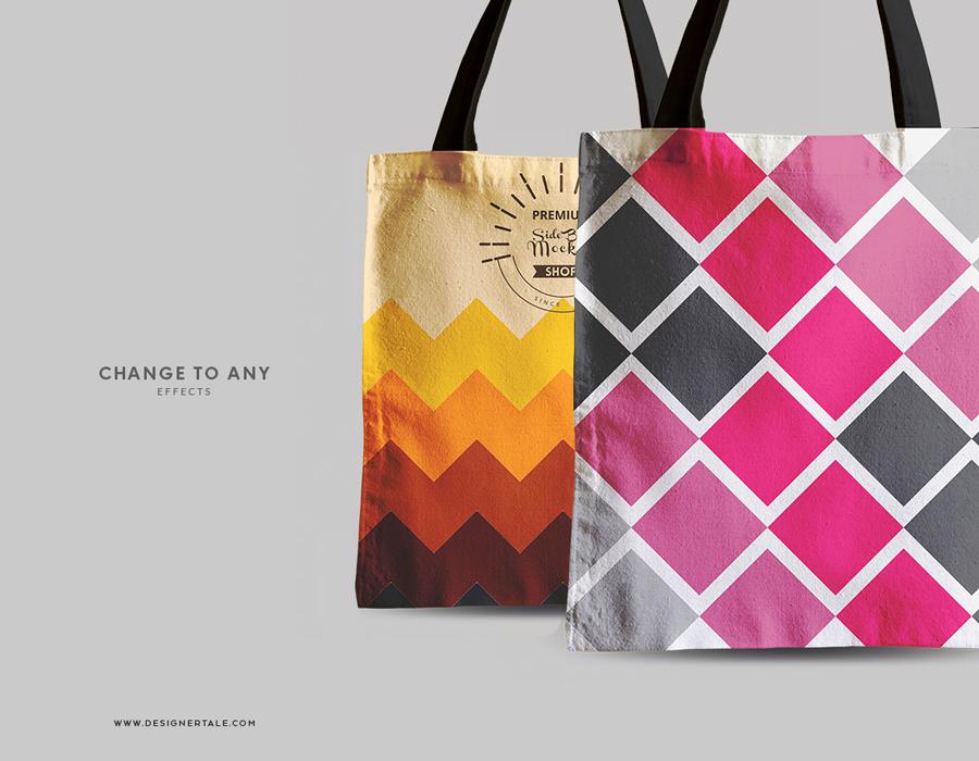 Download Tote Bag MockUp For Packaging Design Branding - Mockup Planet