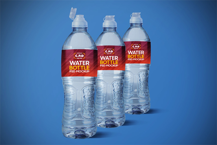 Just look at the labels or the bottled water ads: Free Water Bottle Mockup Psd Find The Perfect Creative Mockups Freebies To Showcase Your Project To Life