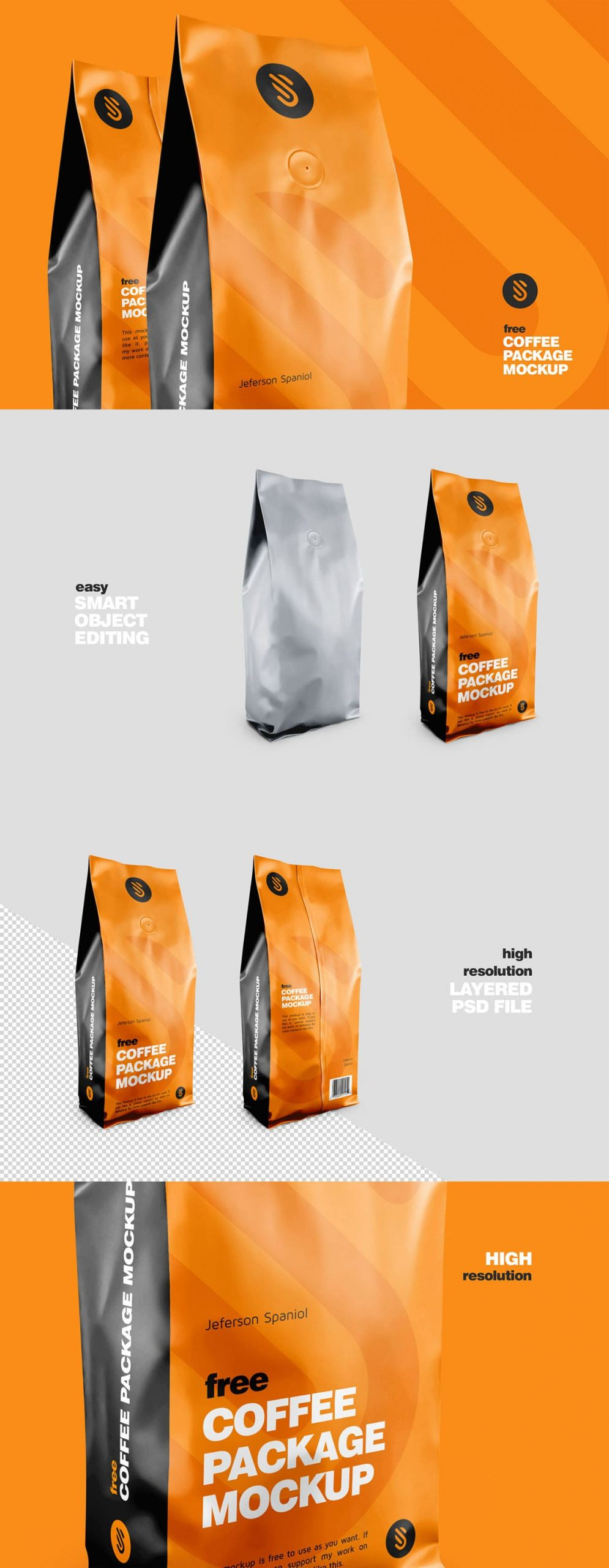 Download Free Coffee Package Mockup PSD - Find the Perfect Creative ...