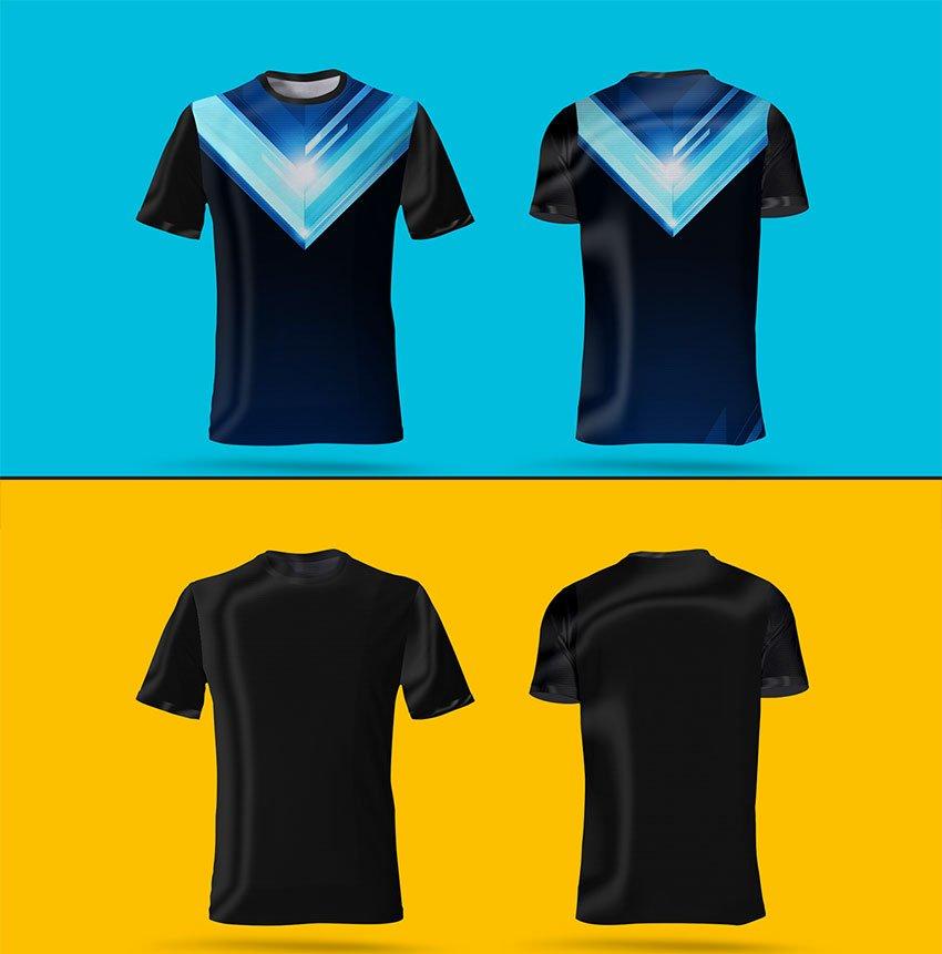 Download Download 10+ Mockup Jersey Futsal PSD Keren Gratis — DYP.im
