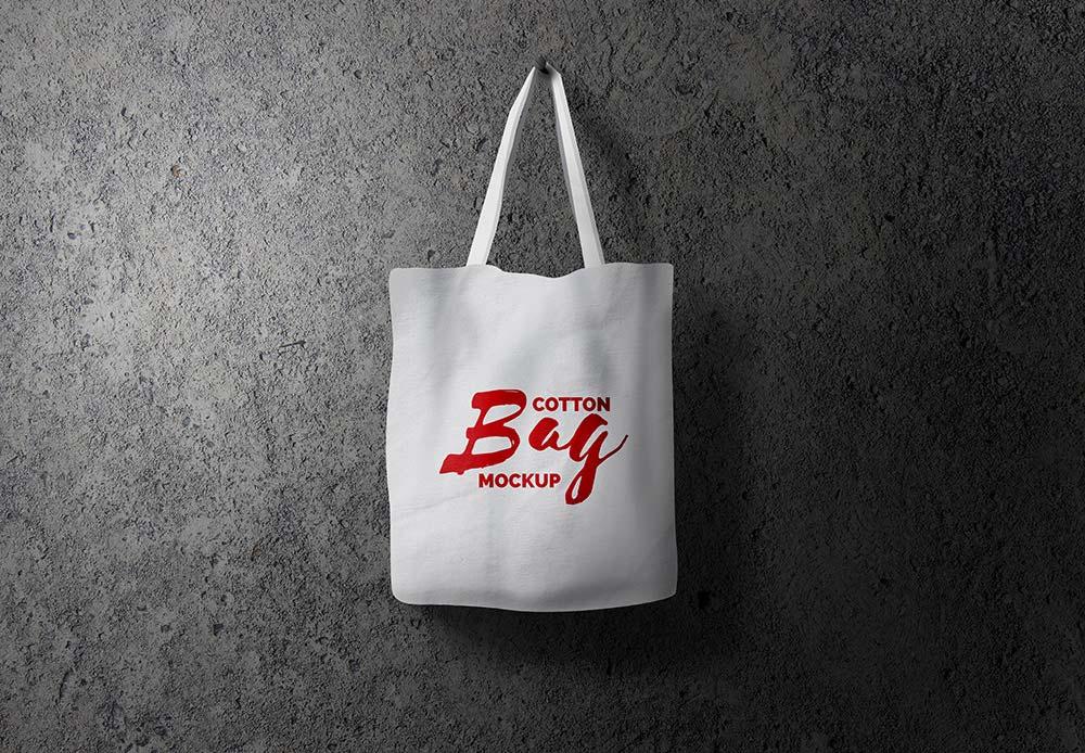 Download Free Cotton Bag Mockup | Mockuptree