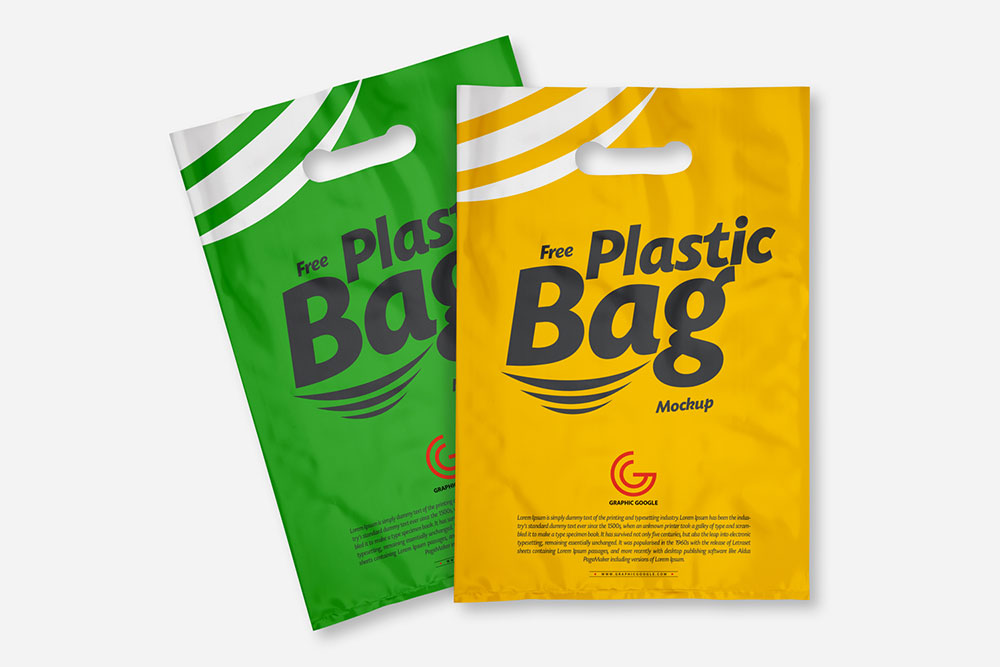 See more ideas about plastic bag design, paper bag design, bags designer. Free Plastic Bag Mockup Mockuptree