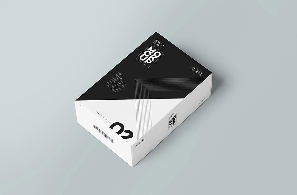 Download Free Card Box Mockup | Mockuptree