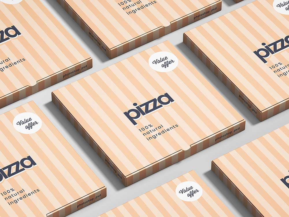 Download Free PSD Pizza Box Mockups | Mockuptree