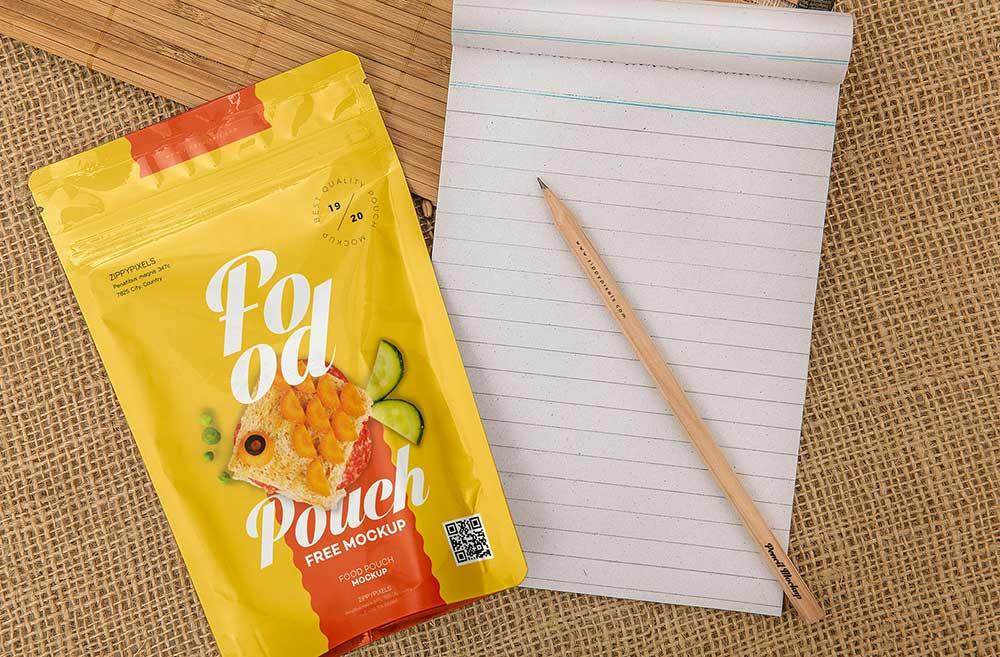 Download Free Food Pack Mockup | Mockuptree