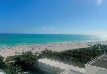 Miami ocean drive beach