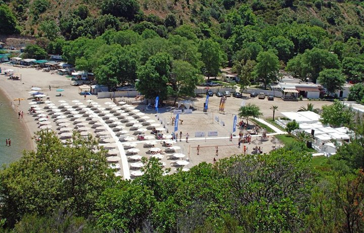 Halkidiki sithonia beach