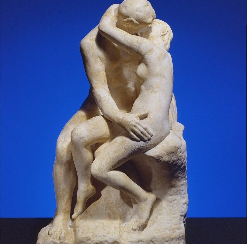world's most popular statues the Kiss by Auguste Rodin