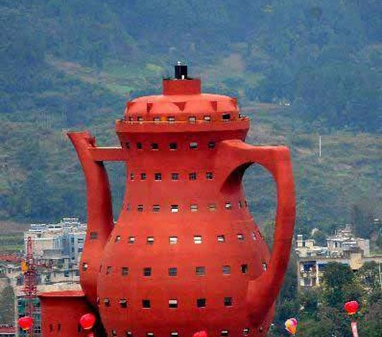 Teapot-Shaped Museum of Tea Culture
