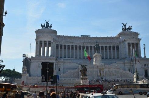 Rome city center
