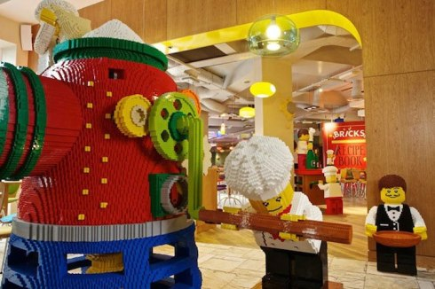 unique hotel made of lego in US 2