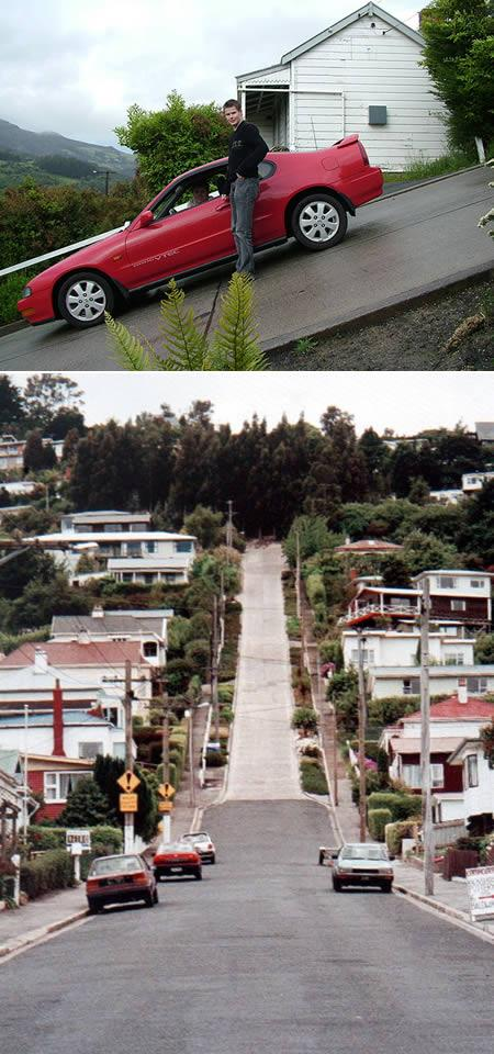 most unusual streets New Zealand