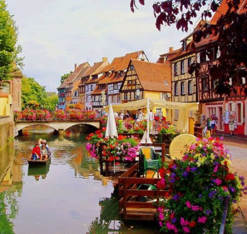 Europe's most beautiful city Colmar, France 19