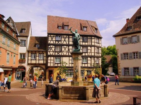 Europe's most beautiful city Colmar, France 20