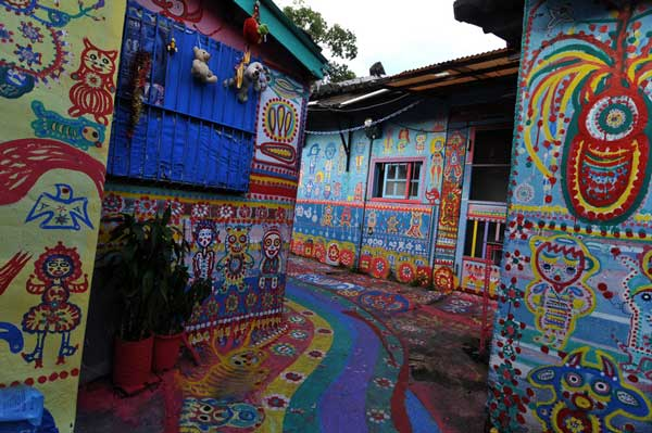 Taichung, Taiwan's colorful village 5