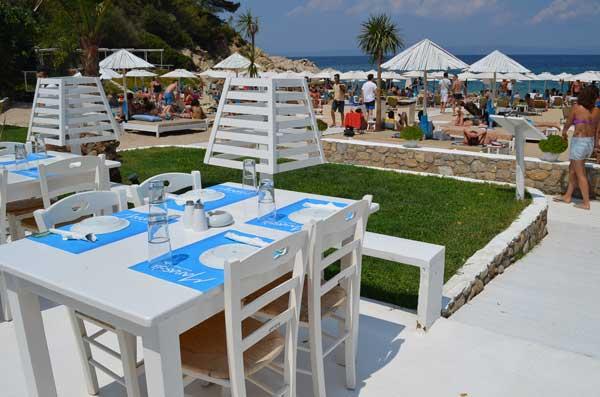 Greece Halkidiki akti oneirou Manassu Restaurant