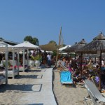 Greece Halkidiki Paliouri beach best beach bars Lefki Ammos