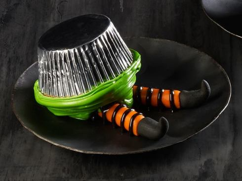 Easy and cute witch halloween recipe