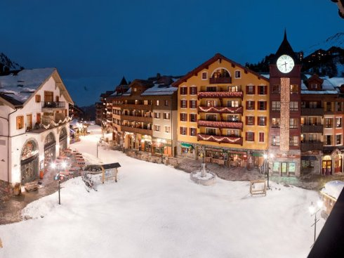 Best winter destination for ski and spa