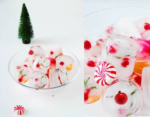 Best recipes for christmas ice cubes