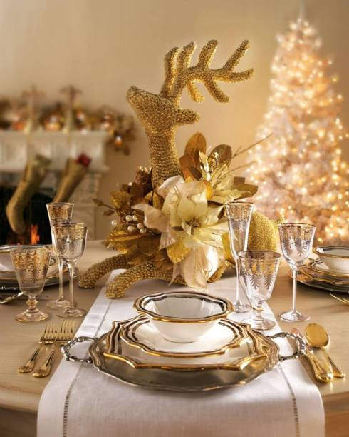 most creative christmas table decor ideas 41
