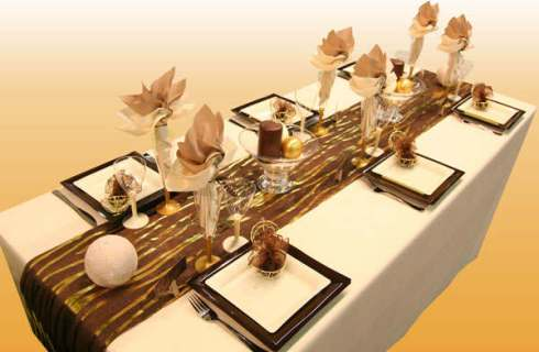 most creative christmas table decor ideas 32