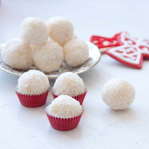 Best recipes for christmas coconut truffles