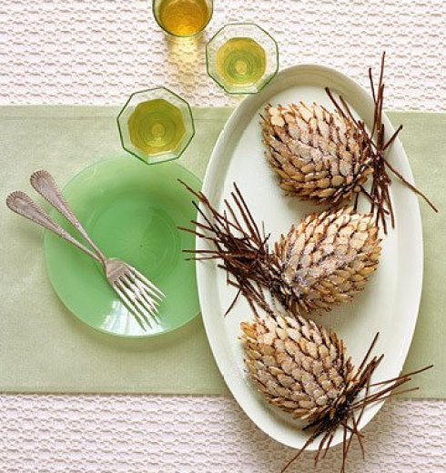 most creative desserts for christmas pinecone