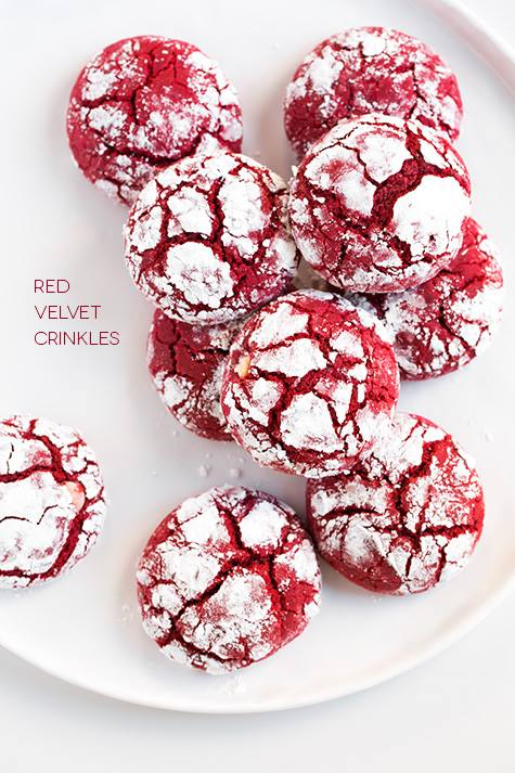 Best red velvet crinkle cookies recipe for christmas