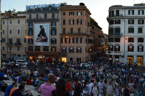 Fun things to do in Rome, Italy, piazza di Spagna