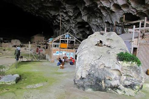 unusual Mao cave village in Ziyun County, China 2