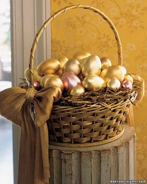 How to Make Metallic Easter Eggs