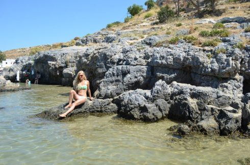 Lindos, best places to visit in Rhodes 4