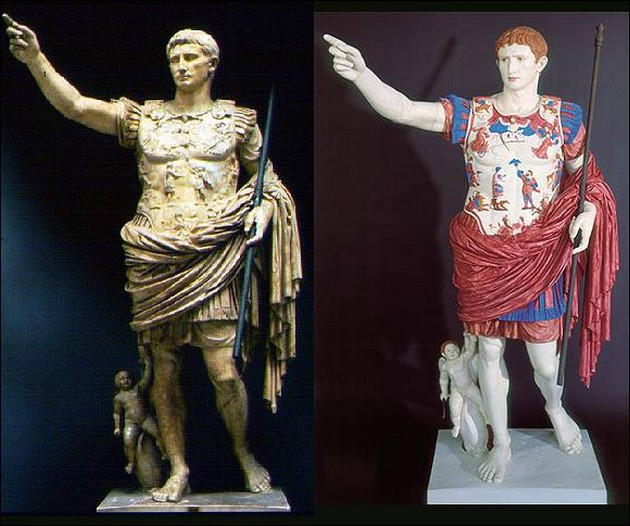 True Colors Of Ancient Greek And Roman Statues Moco Choco Antique Greece To Color