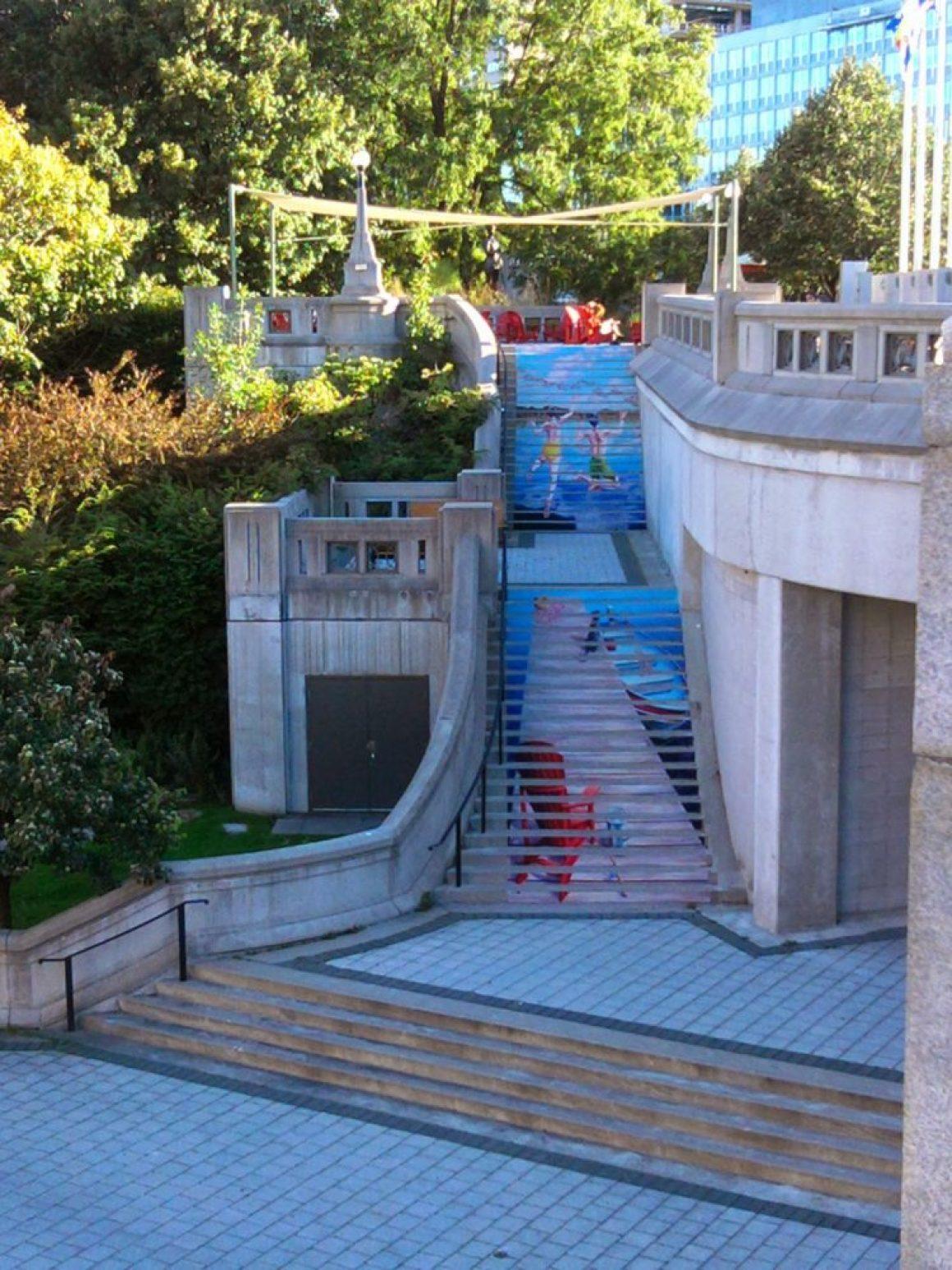 nghệ thuật đường phố cầu thang tuyệt vời trên khắp thế giới, Ottawa - Canada-4