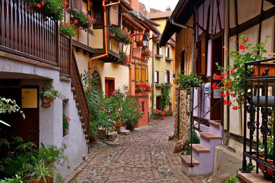 amazing paths around the world Eguisheim, France