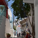 interesting things to see in Greek island Mykonos, cobbled street 5