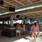interesting things to see in Greek island Mykonos, paraga beach bar