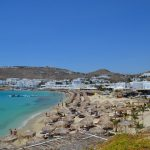 interesting things to see in Greek island Mykonos, Platys Gialos beach 2
