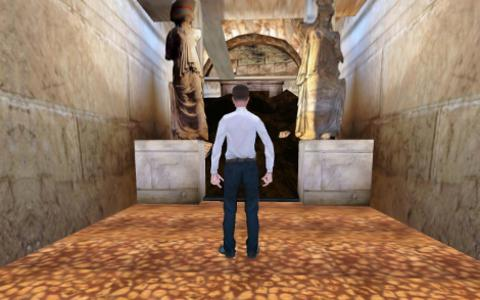 3D animation video of Amphipolis tomb