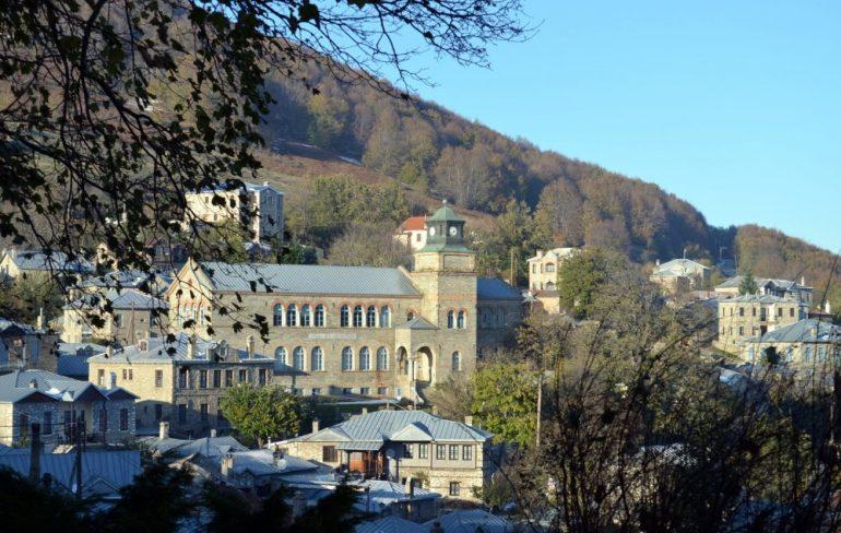 picturesque Greek village, Nymfaio