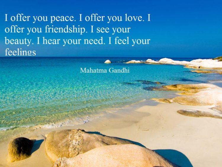 famous quotes of Gandhi 4