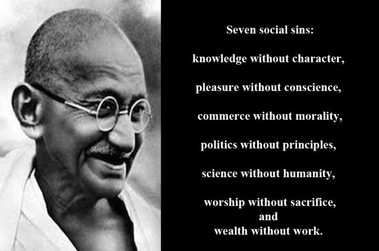 famous quotes of Gandhi 25